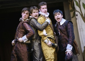 For those who read and enjoy my Tor Shakespeare post, one addendum: the recent Globe production of Love's Labour's Lost (available on DVD) is VERY good, highly recommended!