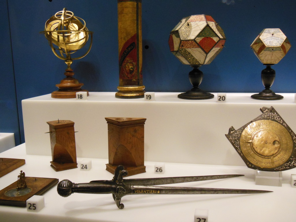 Lavishly decorated scientific instruments, worthy ornaments of court, like the people who created them.