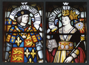 RIII-and-Queen-Anne-Neville-Cardiff-Castle