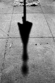 Is this a shadow of a flag? Or of a woman in a knee-length skirt? Distortions of shadows are a Source of Error.