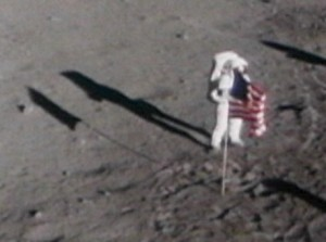 Remember the modes of skepticism related to scarcity, and juxtaposition of objects? This shadow of a flag is exciting to us because it is ON THE MOON! This makes us consider it an excellent shadow of a flag, regardless of whether it is blurry or crisp.