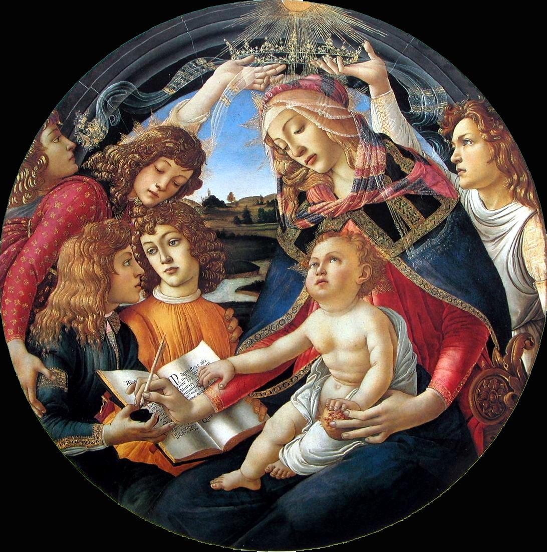 Botticelli_1483-85 Magnificat Madonna