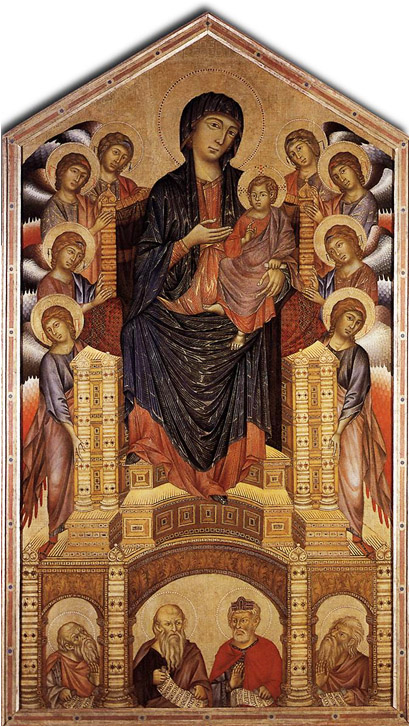 Cimabue-Pre-Giotto Alterpiece