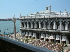 Venice's great late Renaissance Marciana Library.