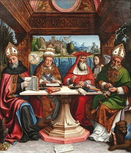 514px-Pier_Francesco_Sacchi_-_Dottori_della_Chiesa_-_ca._1516