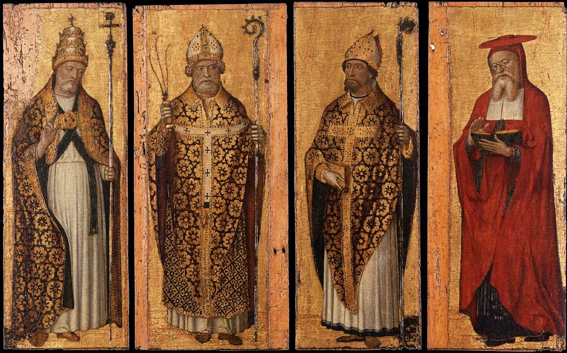 b2c17167 Spot the Saint: The Four Doctors + Saints' Hats – Ex Urbe