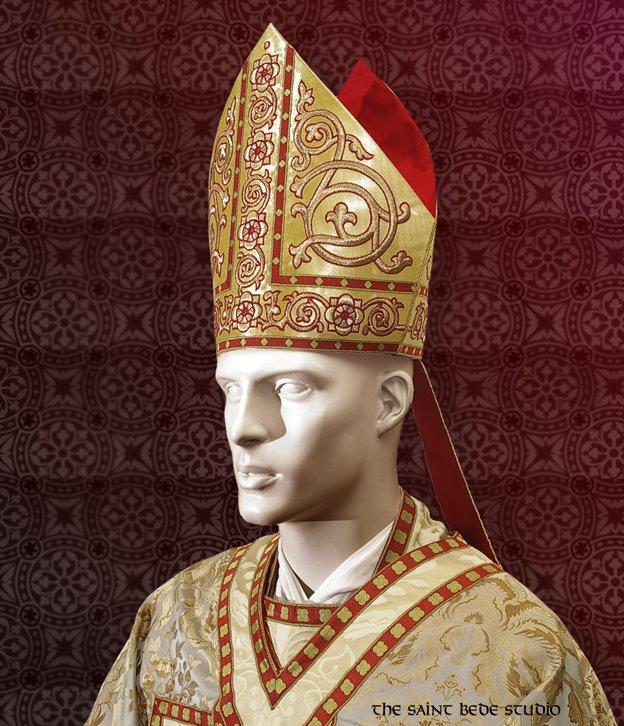 Spot the Saint  The Four Doctors + Saints  Hats – Ex Urbe 16712809e798