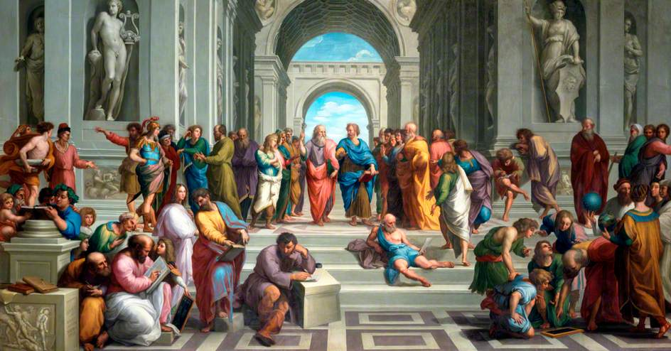 Image result for The School of Athens draft
