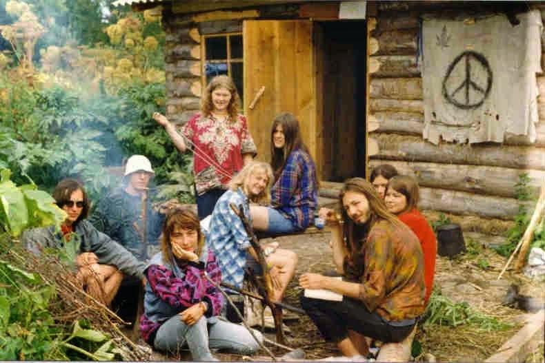 Hippie commune